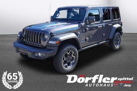 Jeep Wrangler Unlimited PHEV Rubicon bei Autohaus Dörfler in